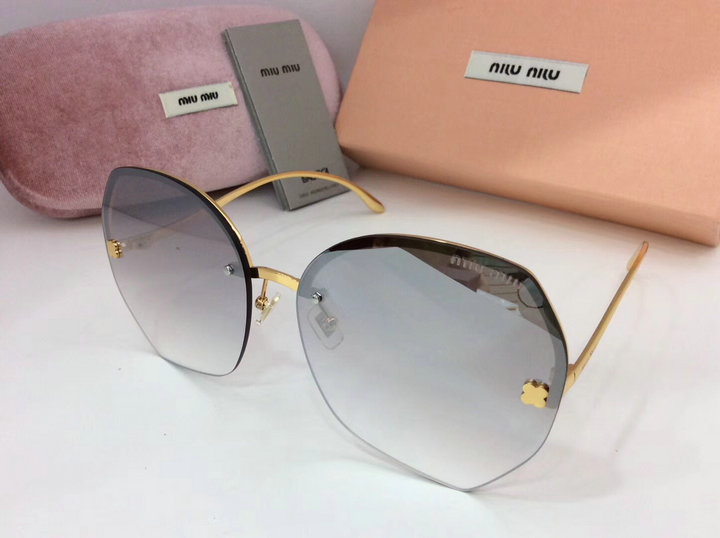 MiuMiu Newest Fashion Sunglasses Top Quality MM0097