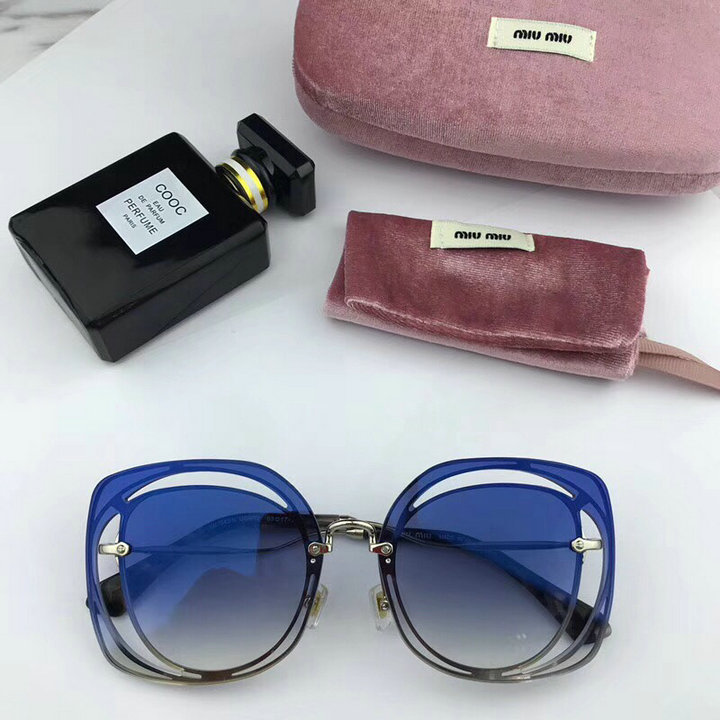 MiuMiu Newest Fashion Sunglasses Top Quality MM0100