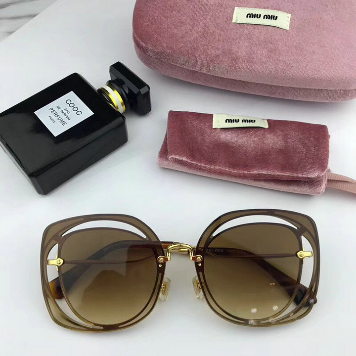MiuMiu Newest Fashion Sunglasses Top Quality MM0101
