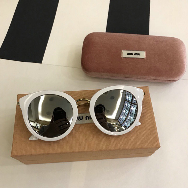 MiuMiu Newest Fashion Sunglasses Top Quality MM0102