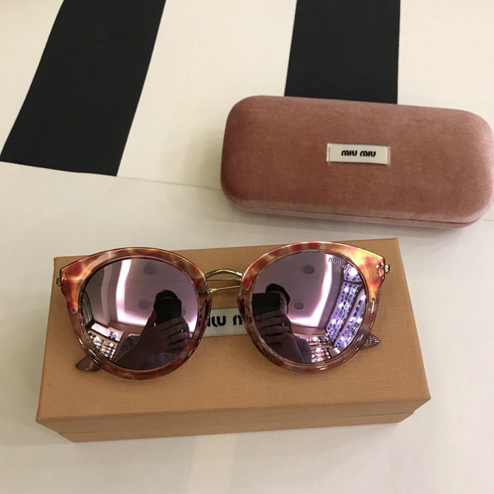 MiuMiu Newest Fashion Sunglasses Top Quality MM0103