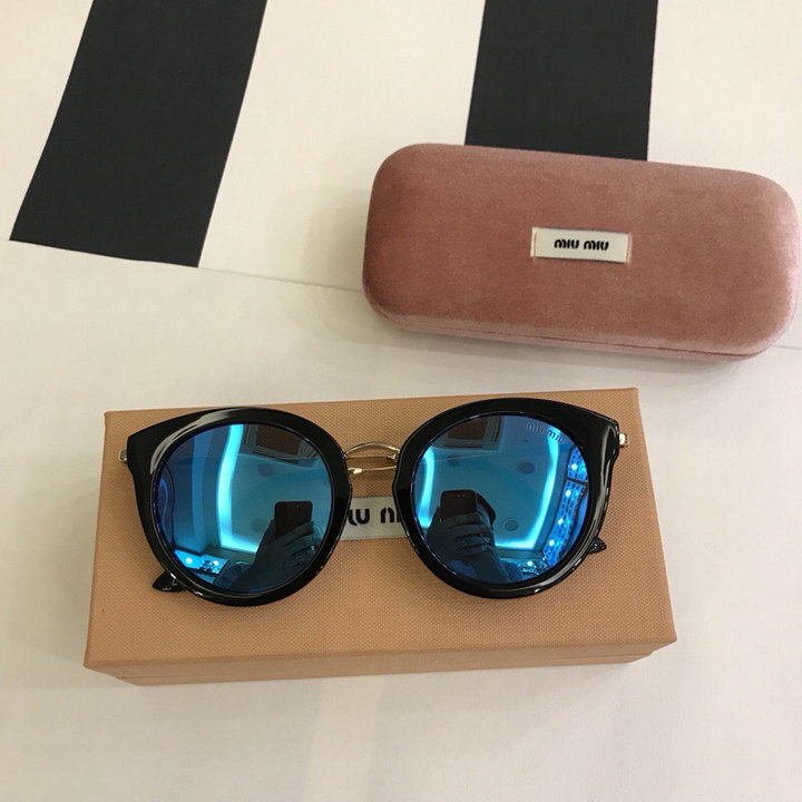 MiuMiu Newest Fashion Sunglasses Top Quality MM0105