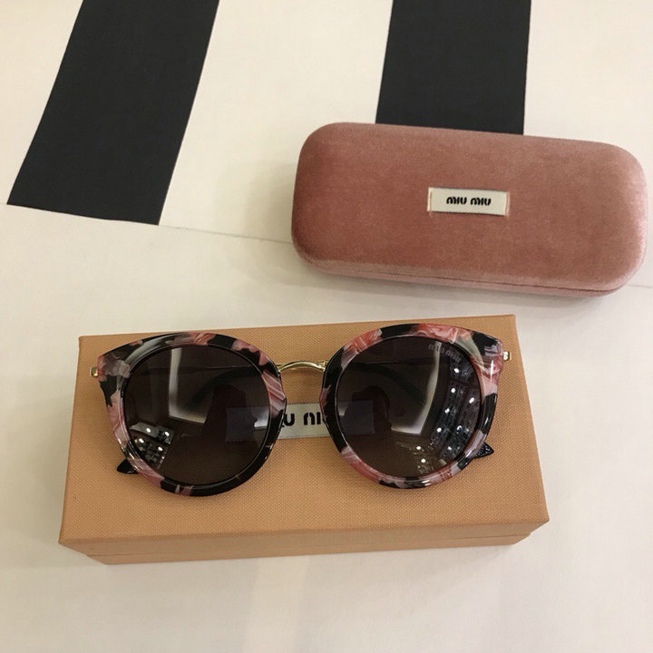 MiuMiu Newest Fashion Sunglasses Top Quality MM0106