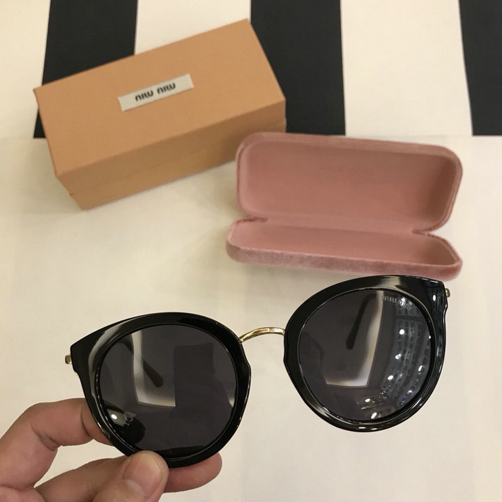 MiuMiu Newest Fashion Sunglasses Top Quality MM0107