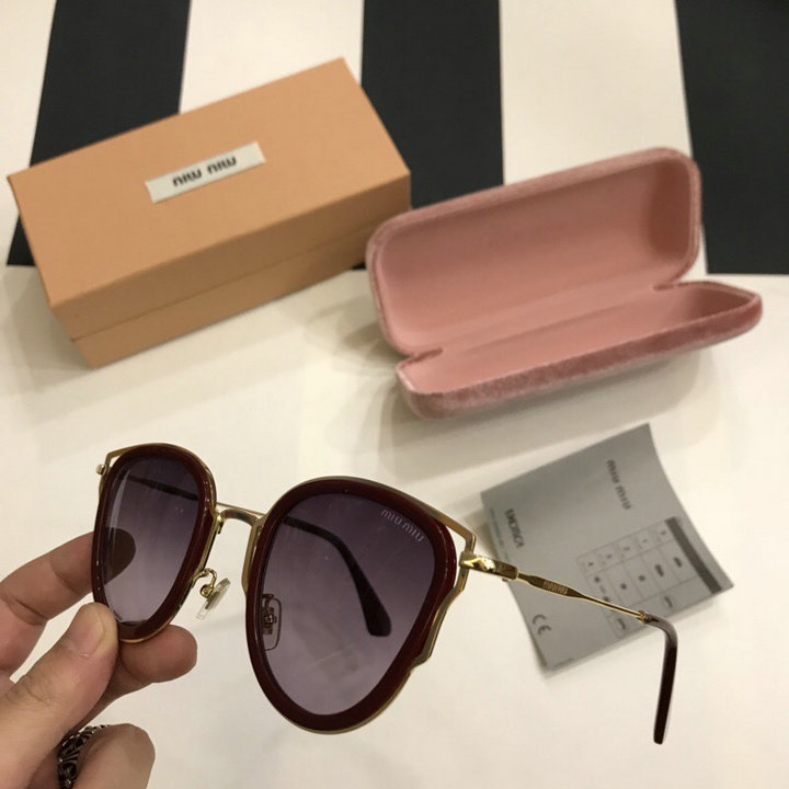MiuMiu Newest Fashion Sunglasses Top Quality MM0109