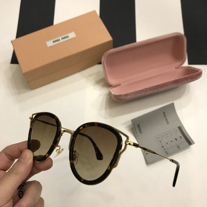 MiuMiu Newest Fashion Sunglasses Top Quality MM0110