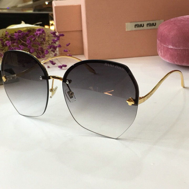 MiuMiu Newest Fashion Sunglasses Top Quality MM0112
