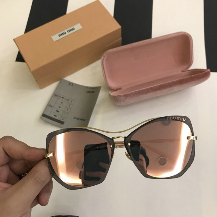 MiuMiu Newest Fashion Sunglasses Top Quality MM0114