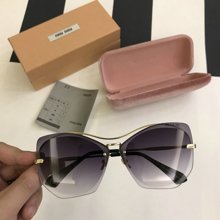 MiuMiu Newest Fashion Sunglasses Top Quality MM0115