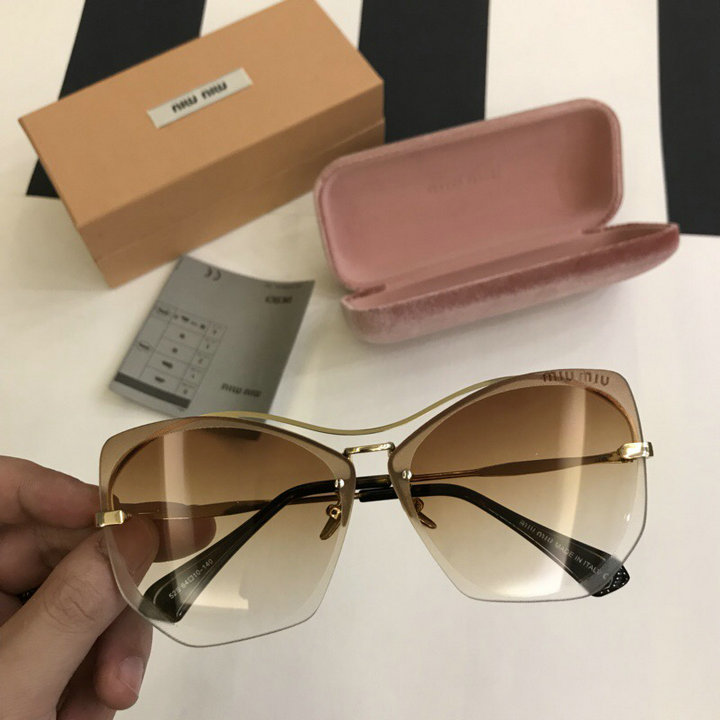 MiuMiu Newest Fashion Sunglasses Top Quality MM0116