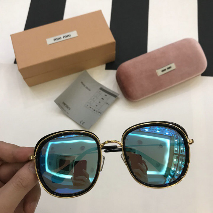 MiuMiu Newest Fashion Sunglasses Top Quality MM0117