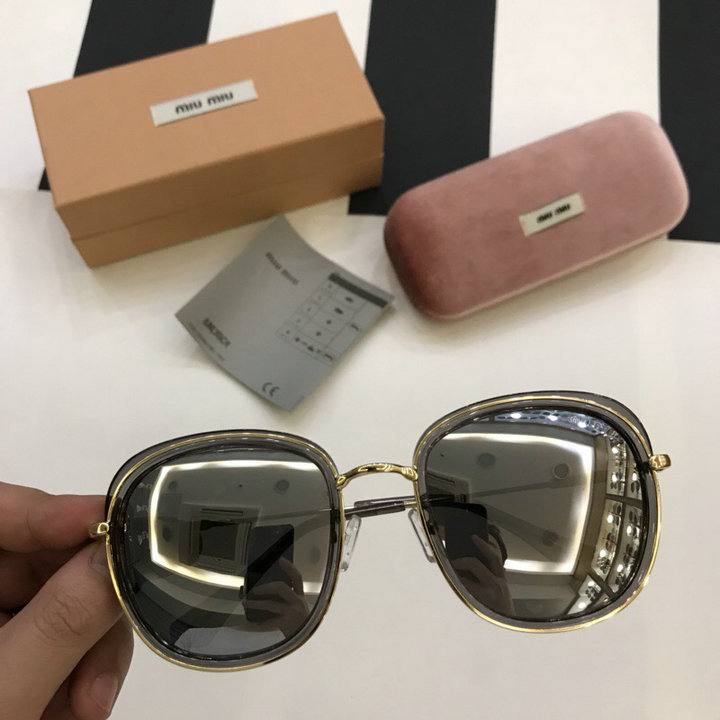 MiuMiu Newest Fashion Sunglasses Top Quality MM0118