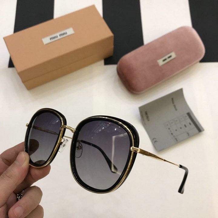 MiuMiu Newest Fashion Sunglasses Top Quality MM0119