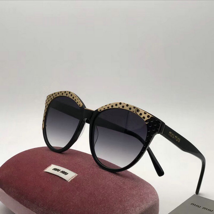 MiuMiu Newest Fashion Sunglasses Top Quality MM0120