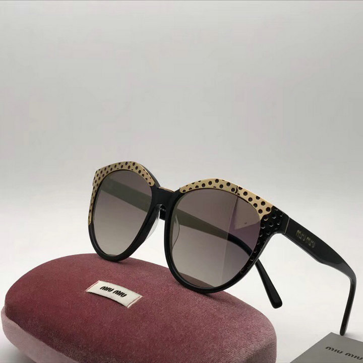 MiuMiu Newest Fashion Sunglasses Top Quality MM0121