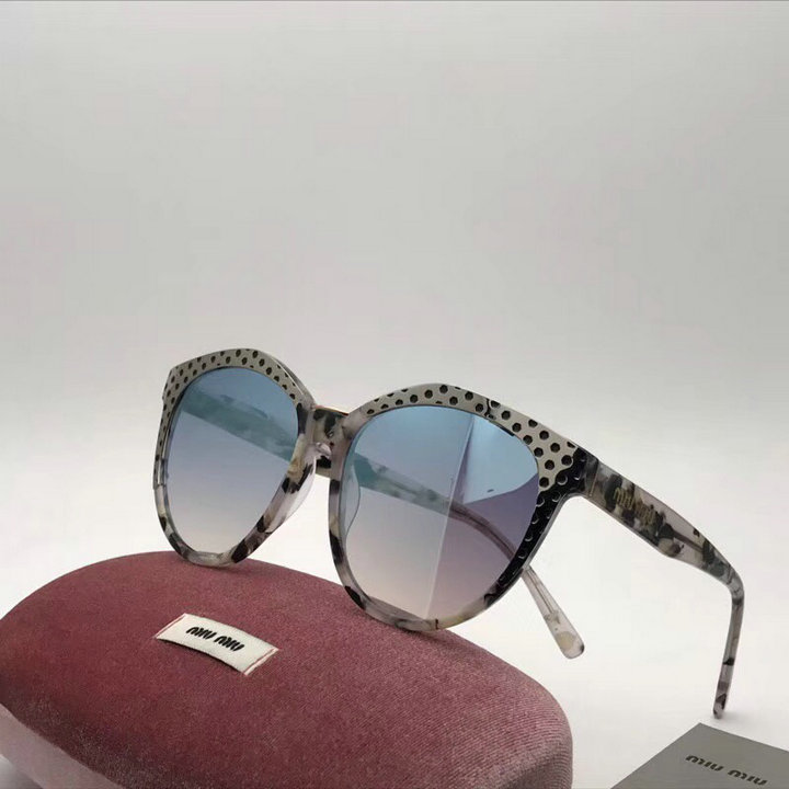 MiuMiu Newest Fashion Sunglasses Top Quality MM0122