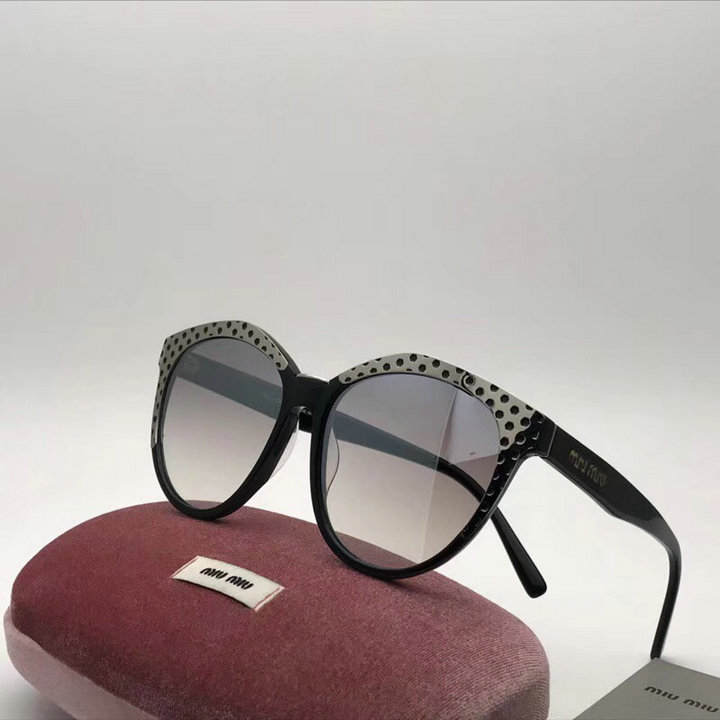 MiuMiu Newest Fashion Sunglasses Top Quality MM0123