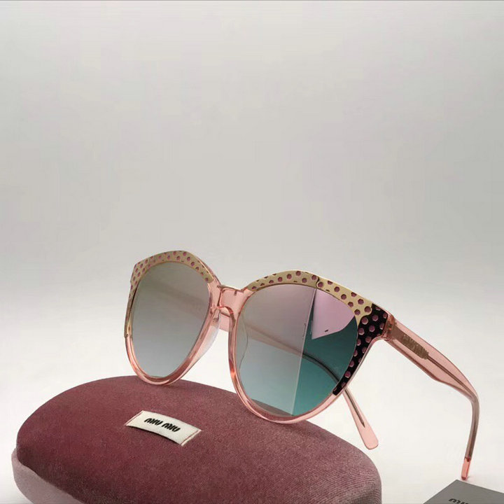 MiuMiu Newest Fashion Sunglasses Top Quality MM0124