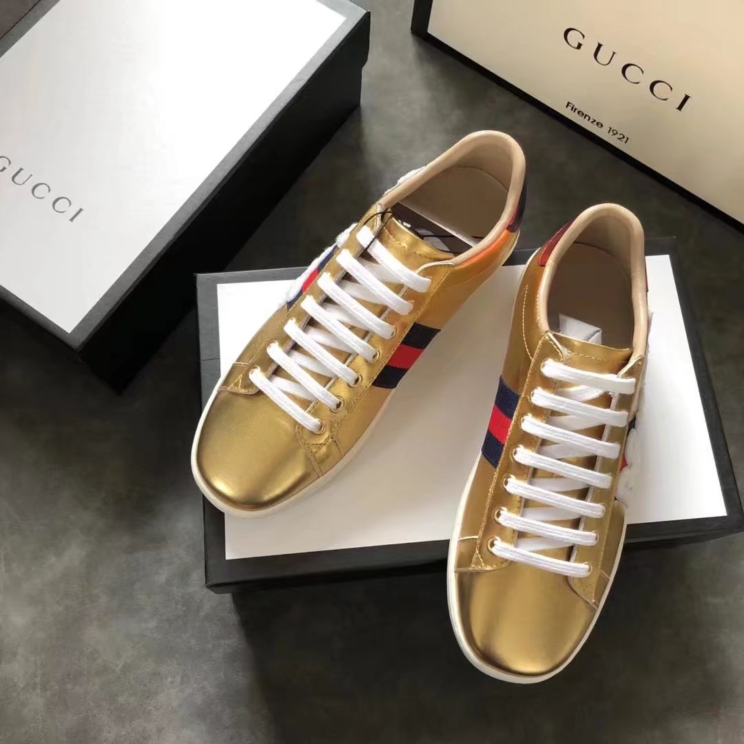 Gucci Lovers shoes GG1308H gold