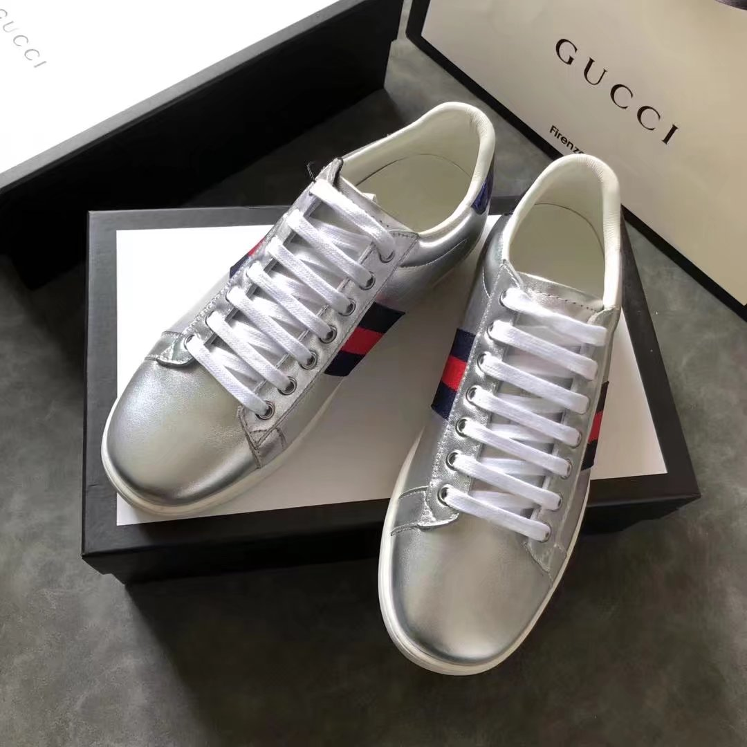 Gucci Lovers shoes GG1324H silver