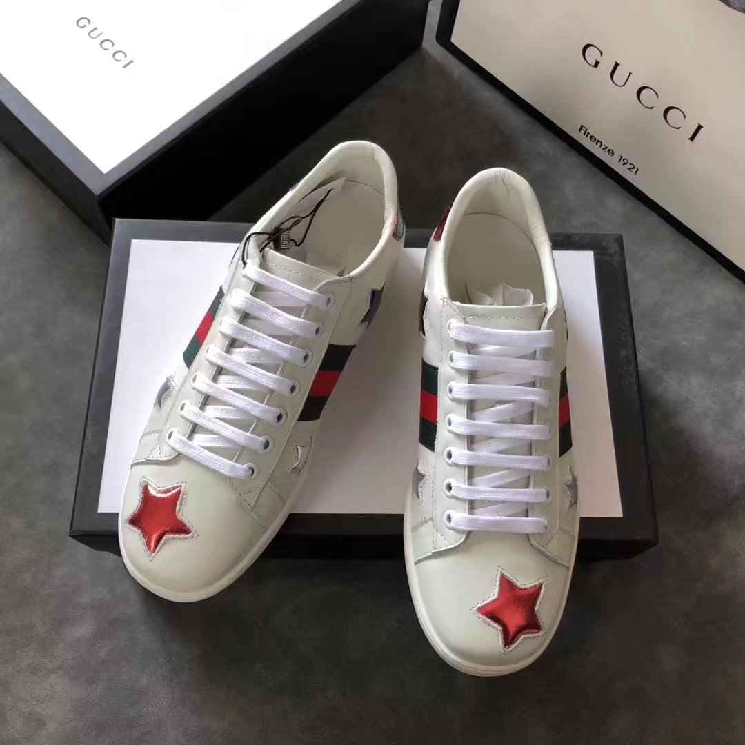 Gucci Lovers shoes GG13101 white