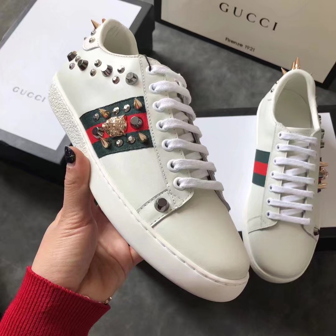 Gucci Lovers shoes GG13065H white