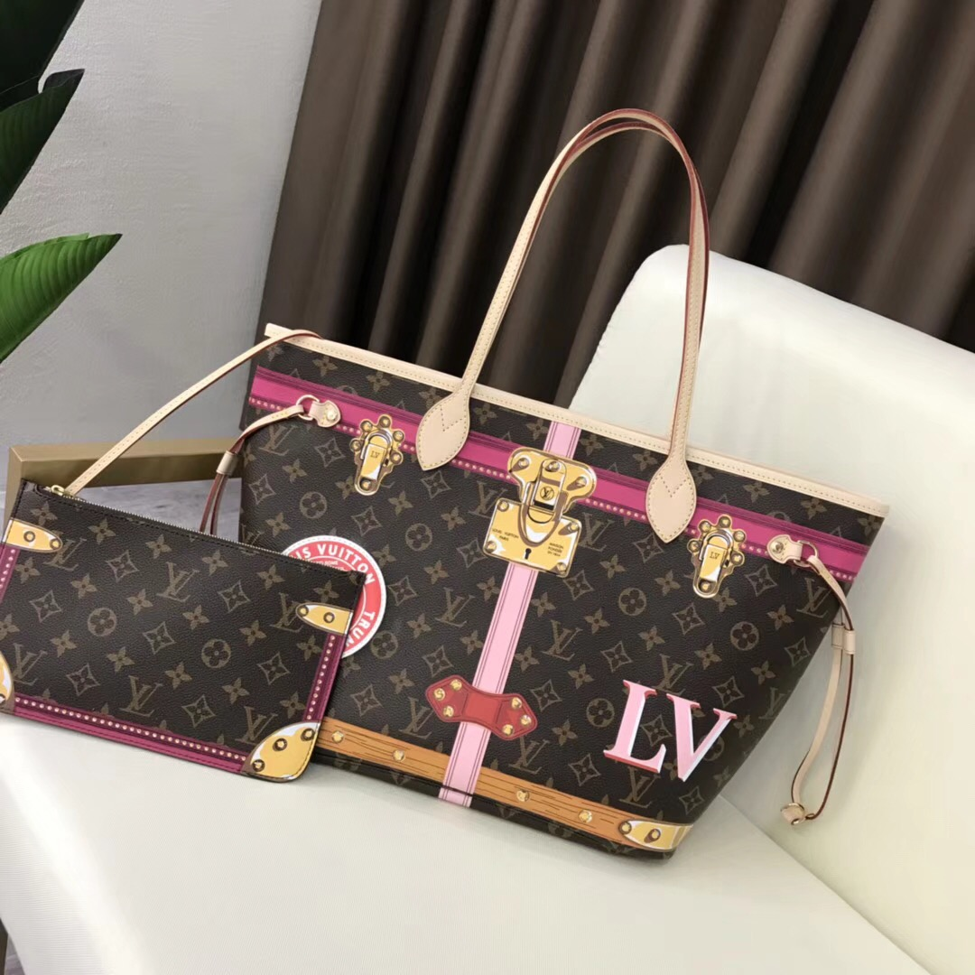 Louis vuitton monogram canvas original neverfull mm A40156