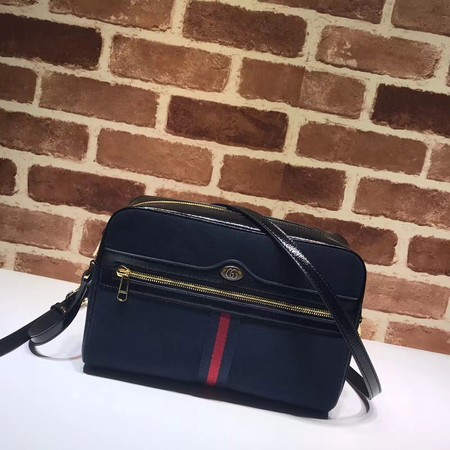 Gucci GG original Nubuck leather Shoulder Bag 517080 Royal Blue
