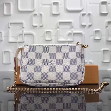Louis Vuitton Original Damier Azur Canvas MINI POCHETTE ACCESSORIES N58009