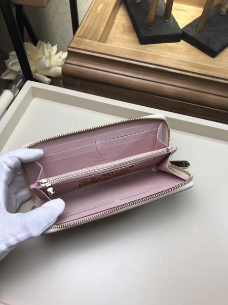 Louis Vuitton Original Damier Azur Canvas ZIPPY CLEMENCE N60109