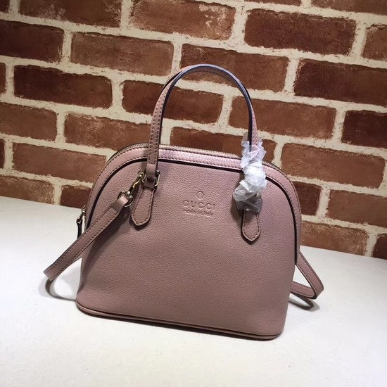 Gucci Calfskin Leather Small Tote Bag B341504 pink