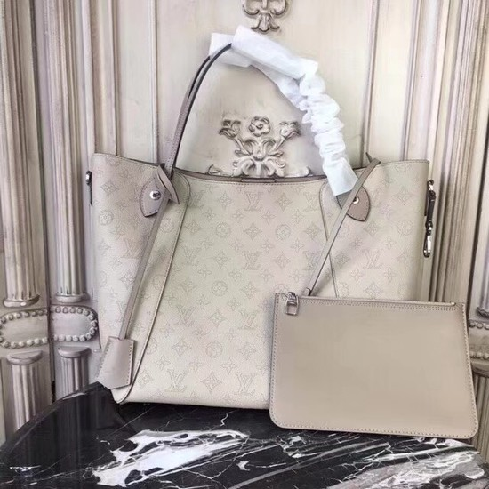 Louis Vuitton Original Mahina Leather HINA Bag M53140 cream
