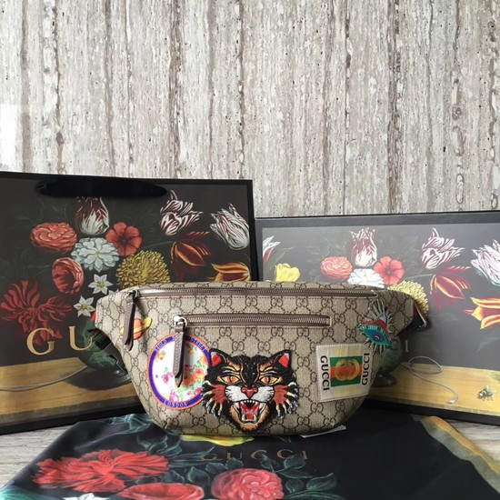 Gucci GG canvas belt bag 484683