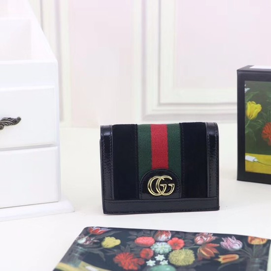 Gucci Ophidia card case 523155 black