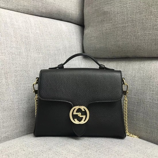 Gucci GG Cowhide top quality tote bag 510302 black