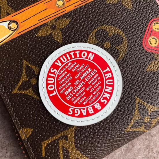 Louis Vuitton Zippy Wallet Monogram Canvas M62616