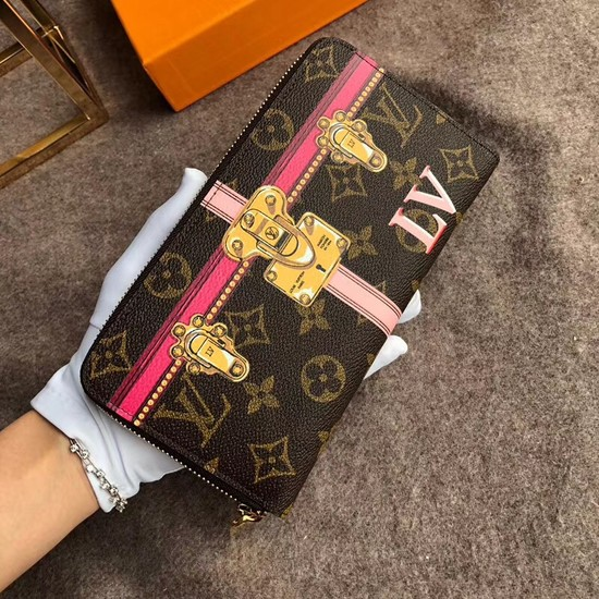 Louis Vuitton Zippy Wallet Monogram Canvas M62616