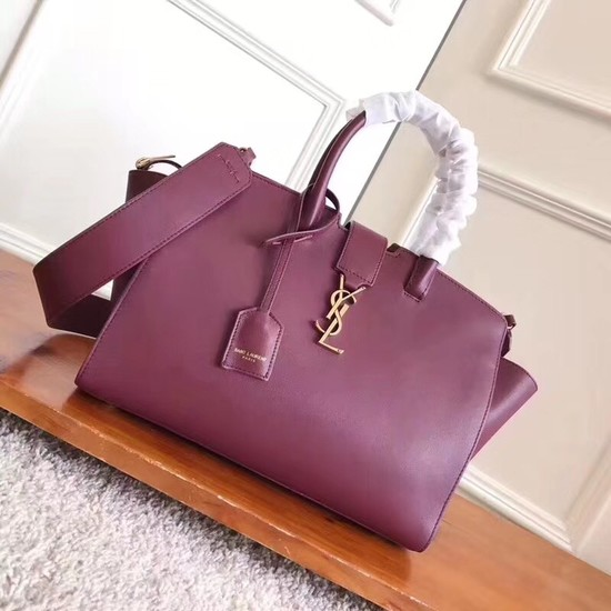SAINT LAURENT NANO SAC DE JOUR SOUPLE 3807 purple