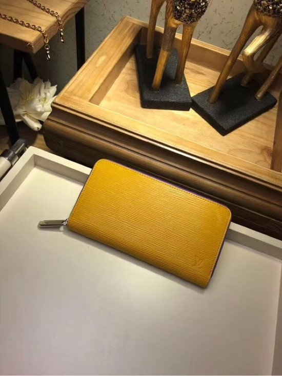 Louis Vuitton EPI leather Zippy Wallet 67267 yellow