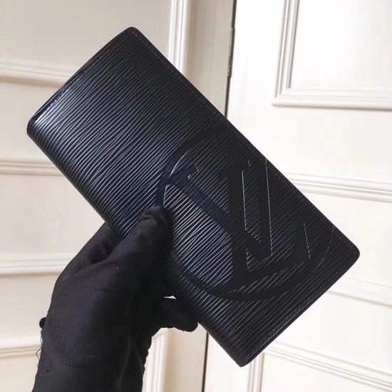 Louis Vuitton EPI leather Wallet 63511 black