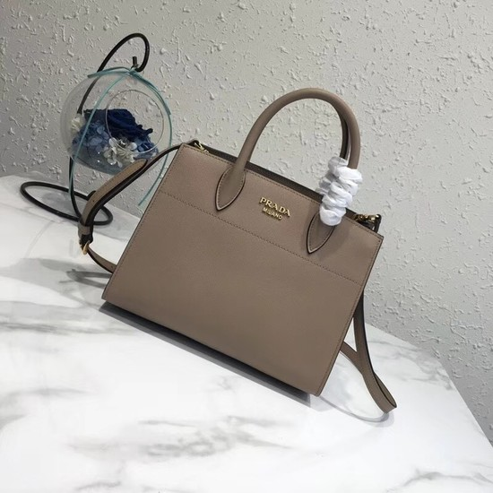Prada saffiano lux tote original leather bag bn4458 apricot