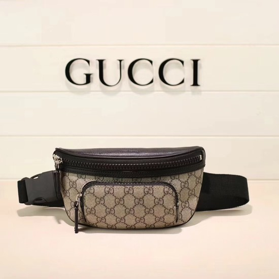 Gucci Soft GG Supreme belt bag 450946 black