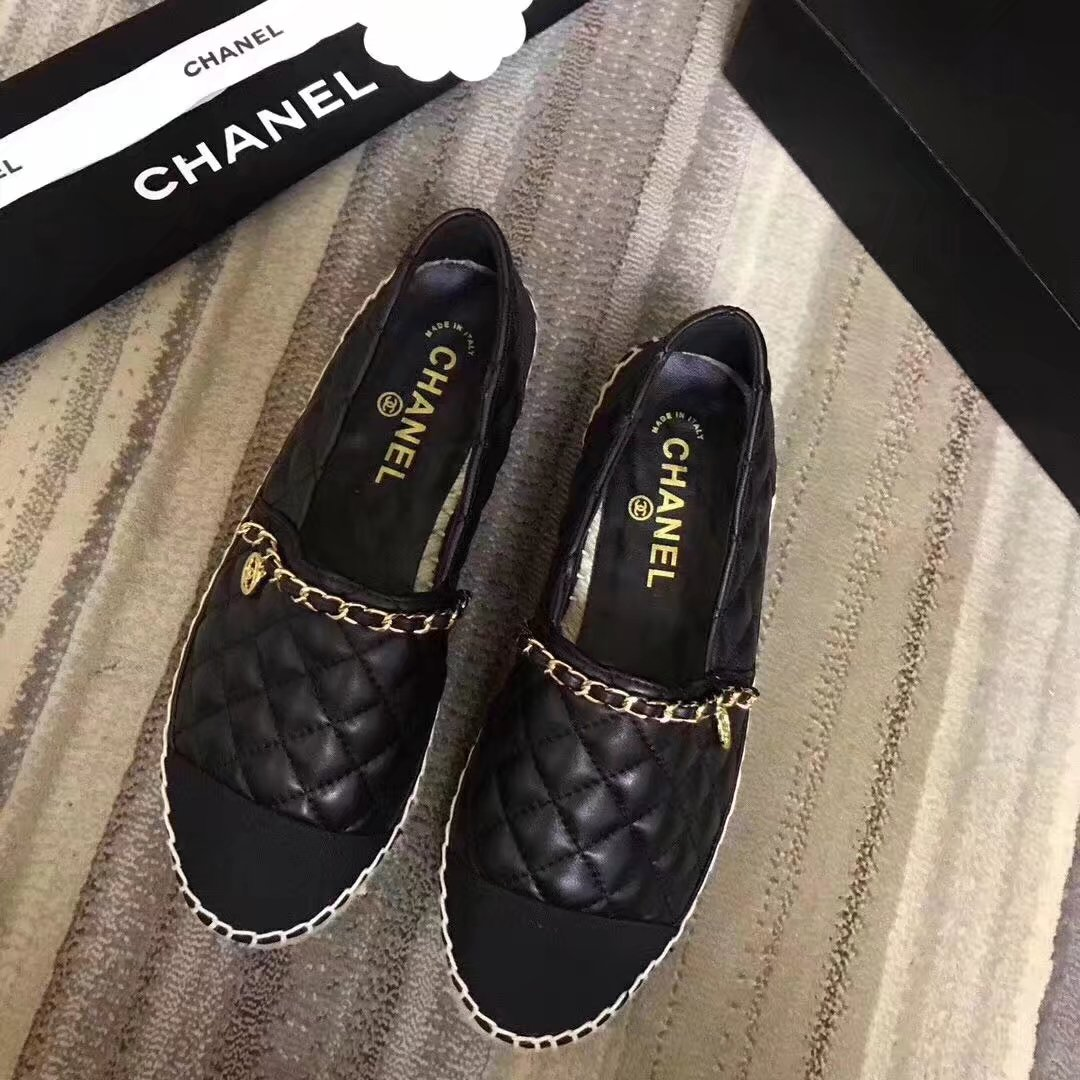 Chanel Casual Shoes CH2285TZ Black