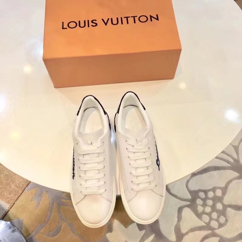 Louis Vuitton casual shoes LV880SY white&blue