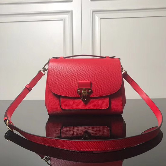Louis Vuitton Epi Leather tote M53339 red