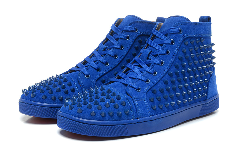 Christian Louboutin Lovers Casual Shoes CL921 blue