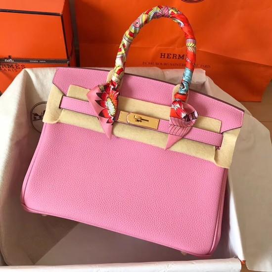 Hermes Birkin Tote Bag Original Togo Leather BK35 Cherry blossoms