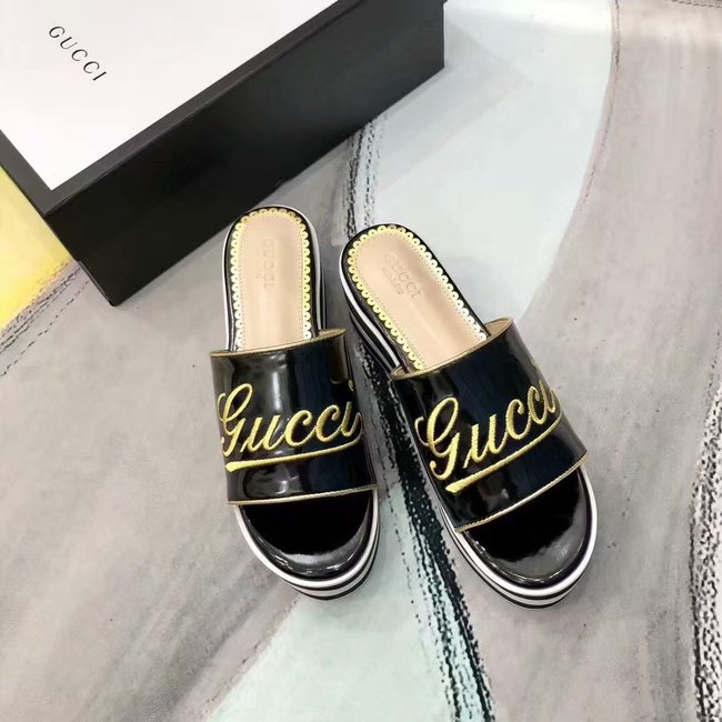 Gucci lady slippers GG1389XXC Heel high 6CM