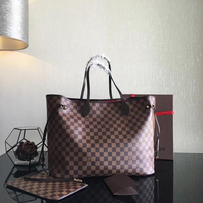 Louis Vuitton Damier Ebene Original NEVERFULL GM N41357