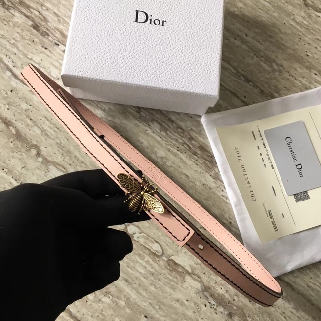 Dior BEE BELT CALFSKIN B0387 pink